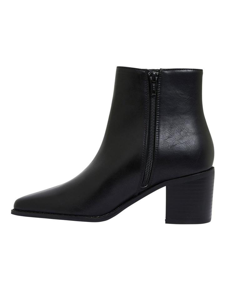 Savanna Black Smooth Boots image 3