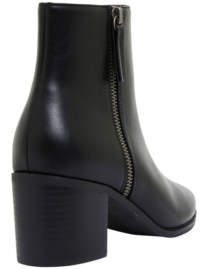 Savanna Black Smooth Boots image 4