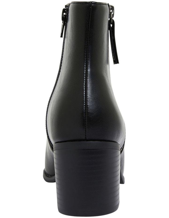 Savanna Black Smooth Boots image 5