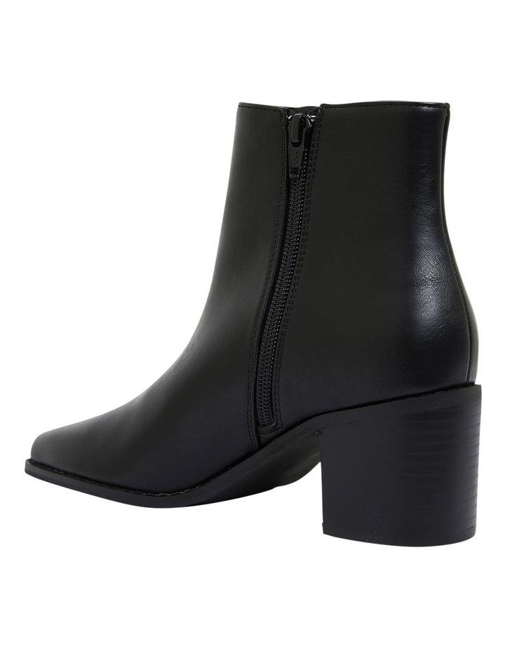 Savanna Black Smooth Boots image 6