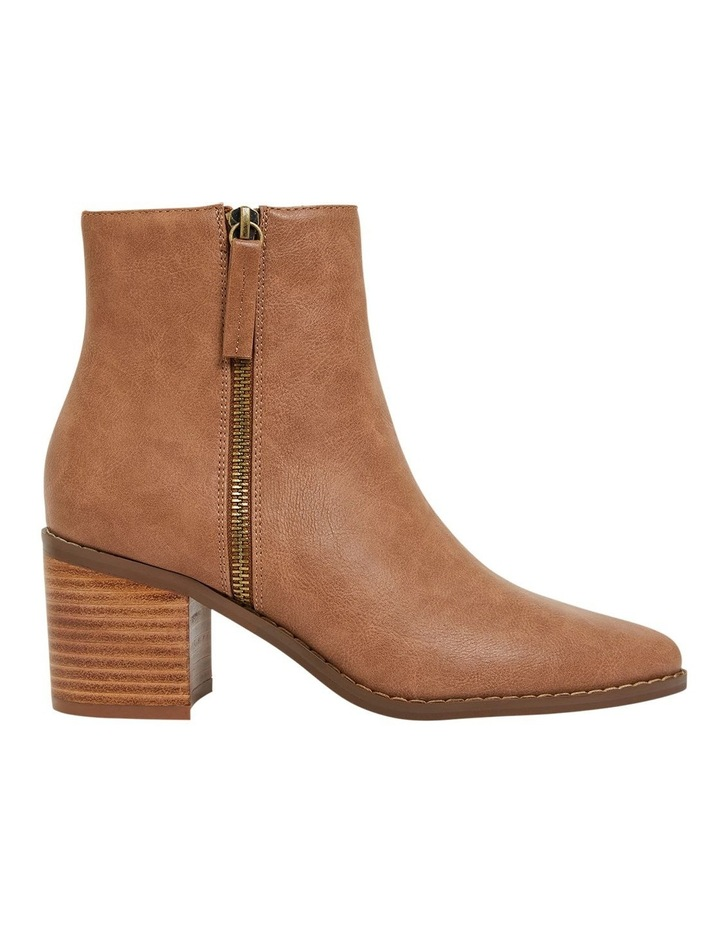 Savanna Tan Smooth Boots image 1