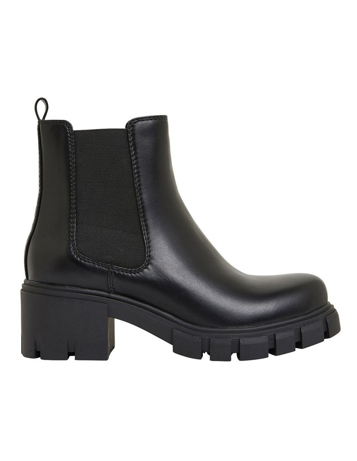 Hasty Black Smooth Boots image 1