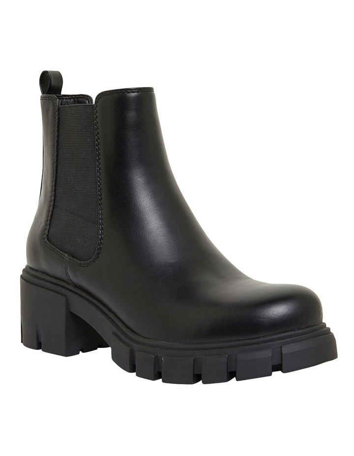 Hasty Black Smooth Boots image 2