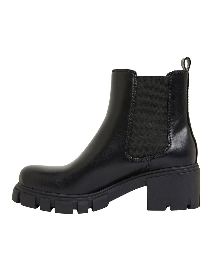 Hasty Black Smooth Boots image 3
