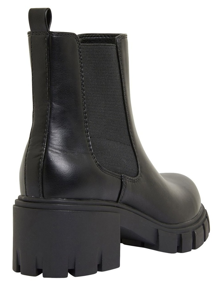 Hasty Black Smooth Boots image 4