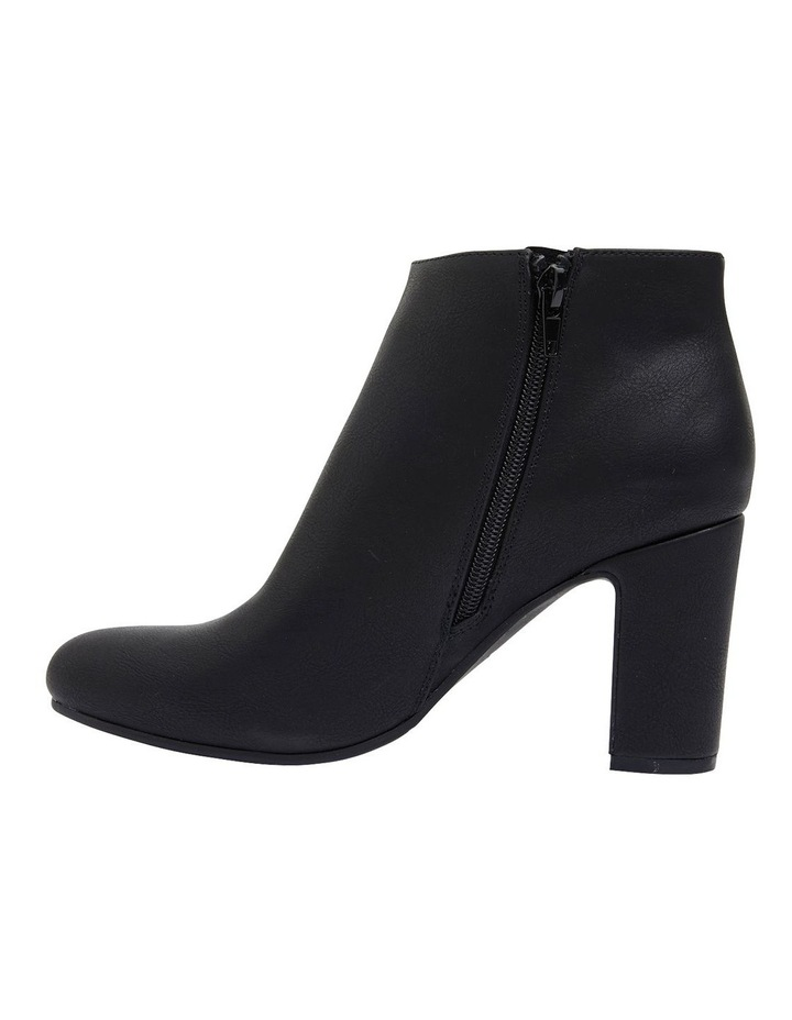 Zinger Black Smooth Boots image 3