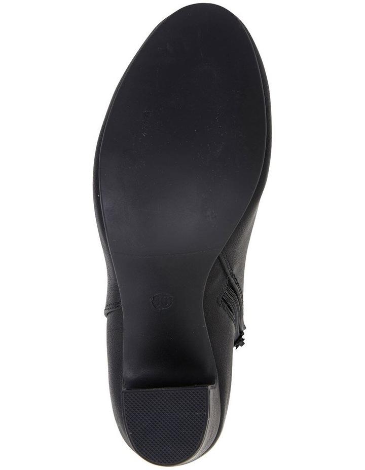 Zinger Black Smooth Boots image 6