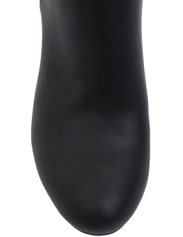 Zinger Black Smooth Boots image 7