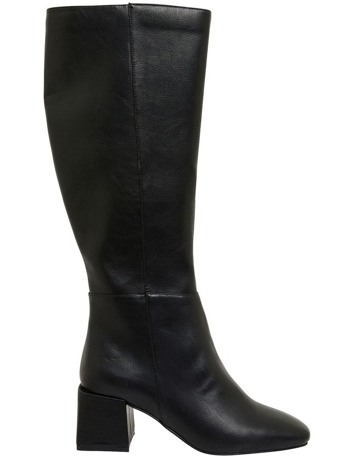 Tabby Black Smooth Boots image 1