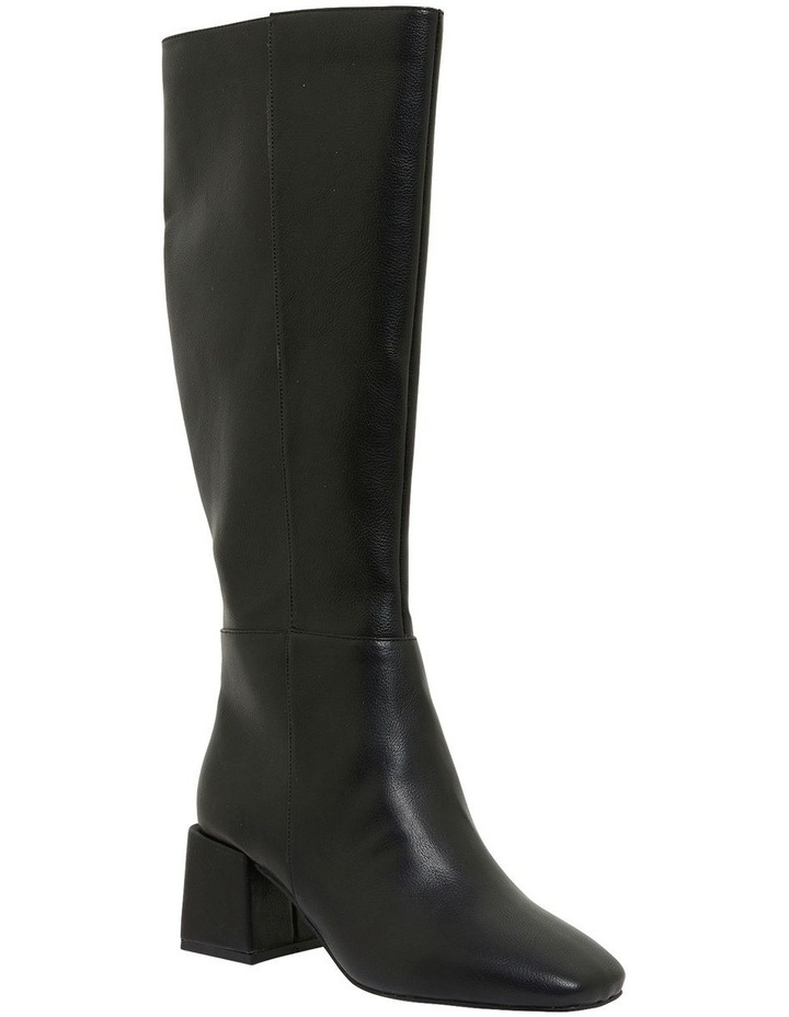 Tabby Black Smooth Boots image 2