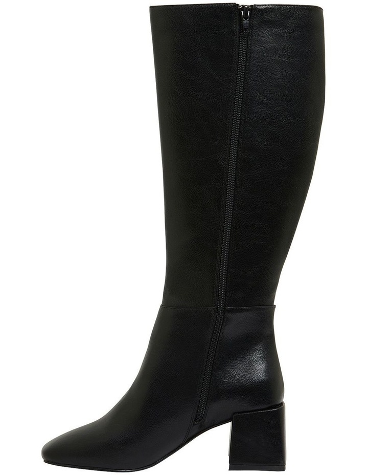 Tabby Black Smooth Boots image 3