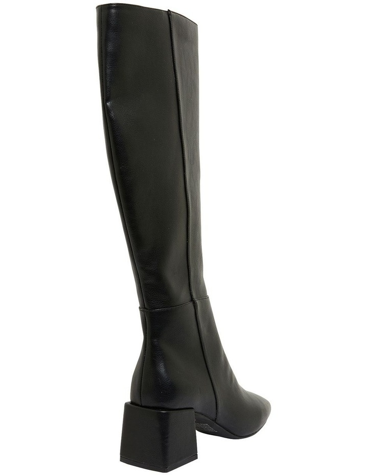 Tabby Black Smooth Boots image 4