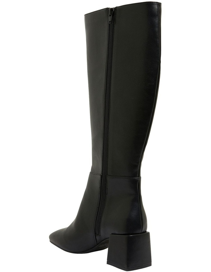 Tabby Black Smooth Boots image 5