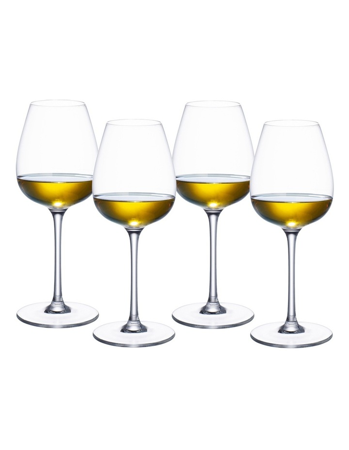 Purismo White Wine Goblet Set of 4 image 1