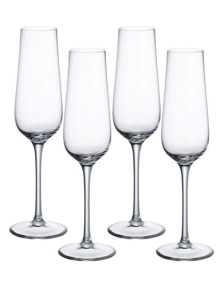 Purismo Champagne Glasses Set of 4 image 1