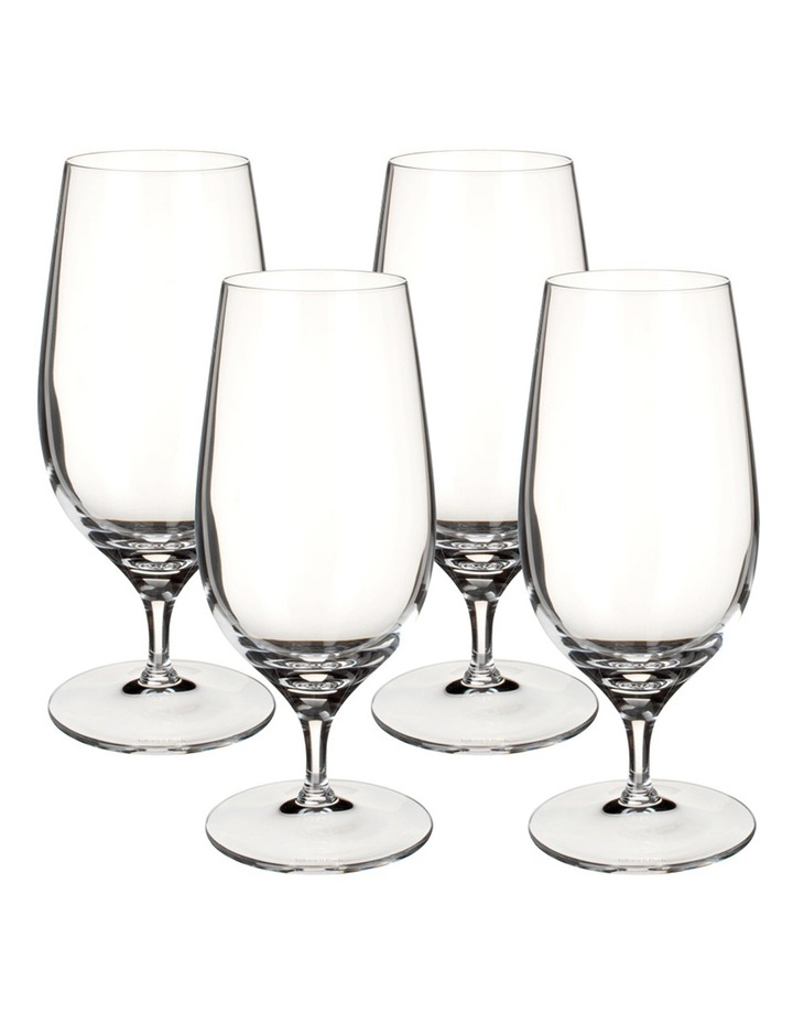 Purismo Beer Glasses Set of 4 image 1