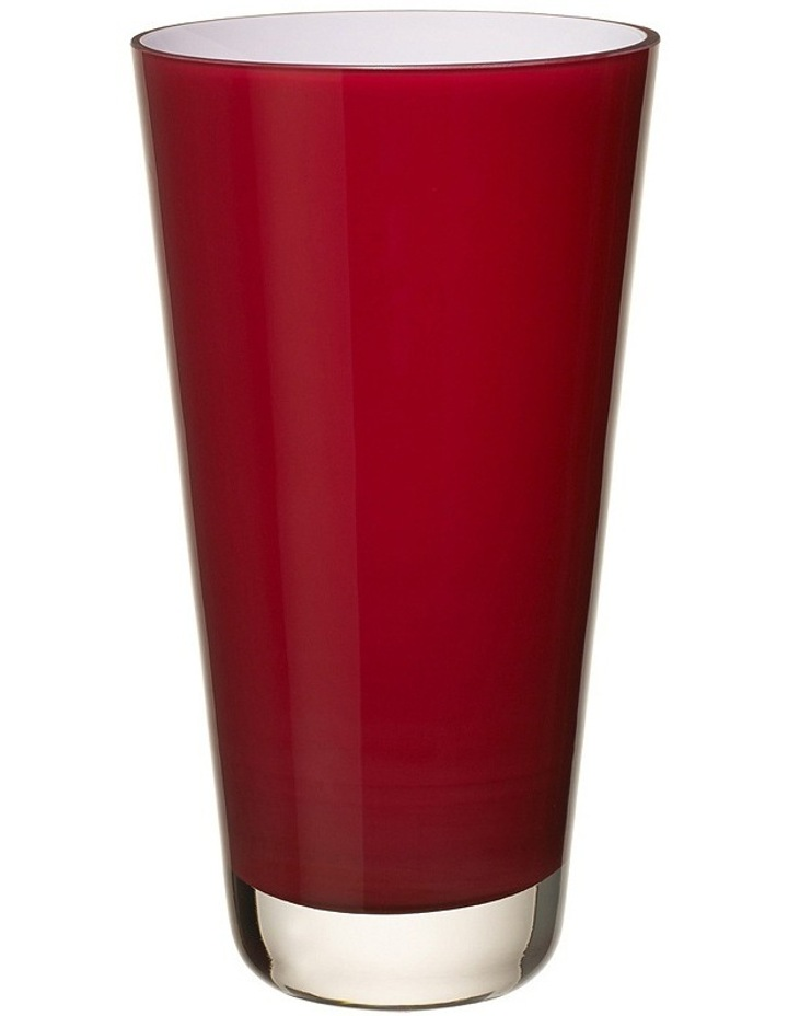 Verso Vase Small Deep Cherry image 1