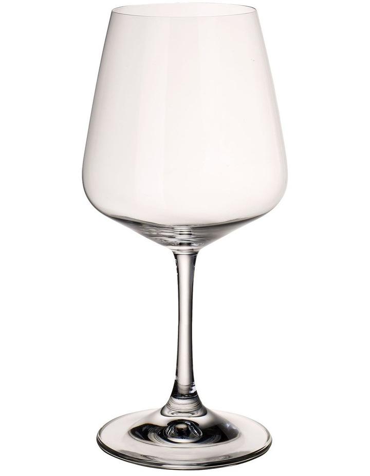 Ovid Red Wine Goblet Set of 4 image 1