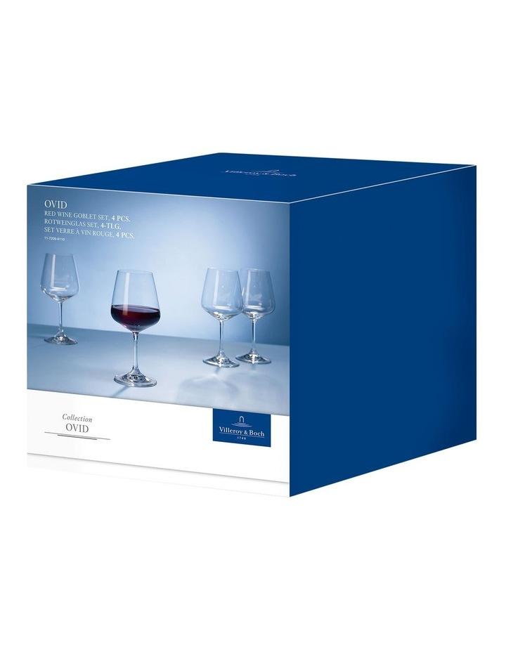 Ovid Red Wine Goblet Set of 4 image 3