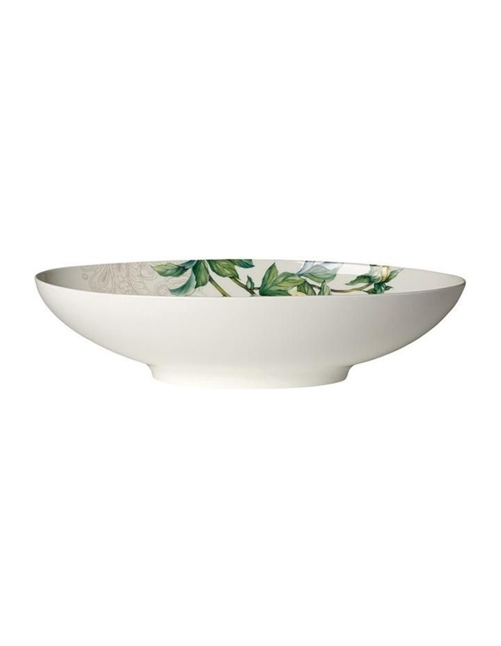 Quinsai Garden Oval Bowl 38x22cm image 1