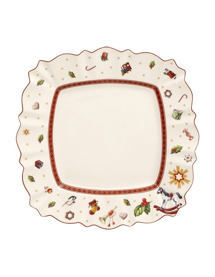Toy's Delight Square Dinner Plate image 1