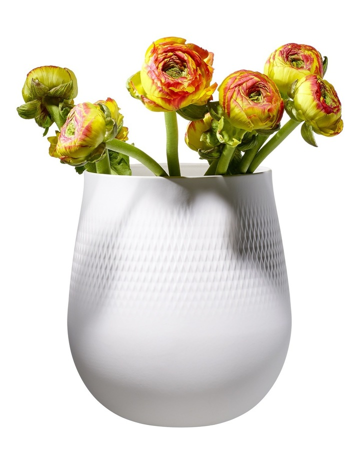 Collier Blanc Large Vase Carre image 2