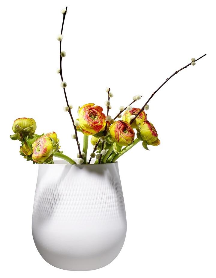 Collier Blanc Large Vase Carre image 3