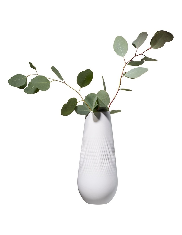 Collier Blanc High Vase Carre image 2