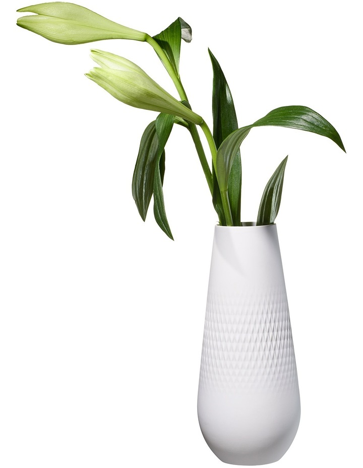 Collier Blanc High Vase Carre image 3