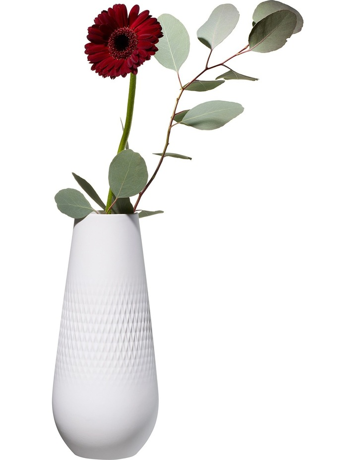 Collier Blanc High Vase Carre image 4