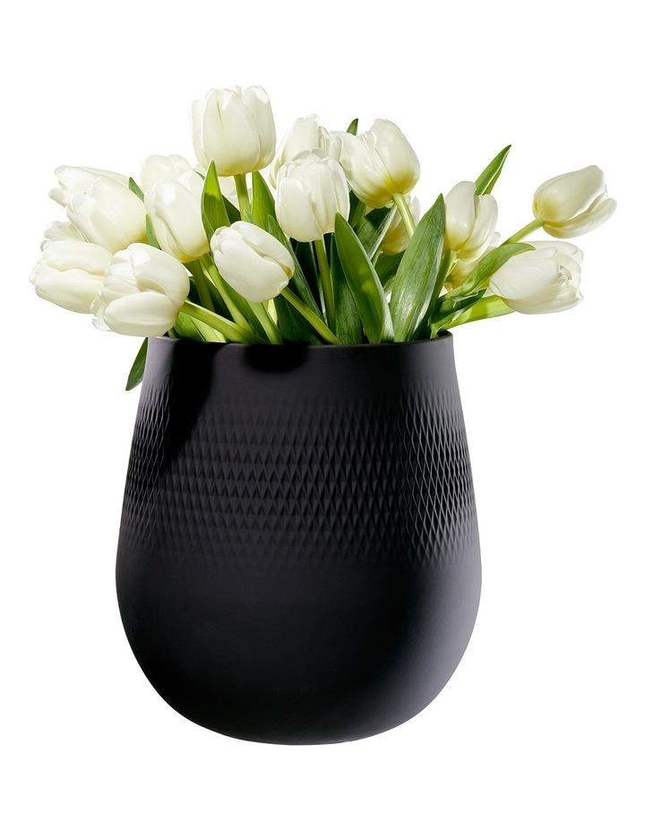 Collier Noir Large Vase Carre image 2