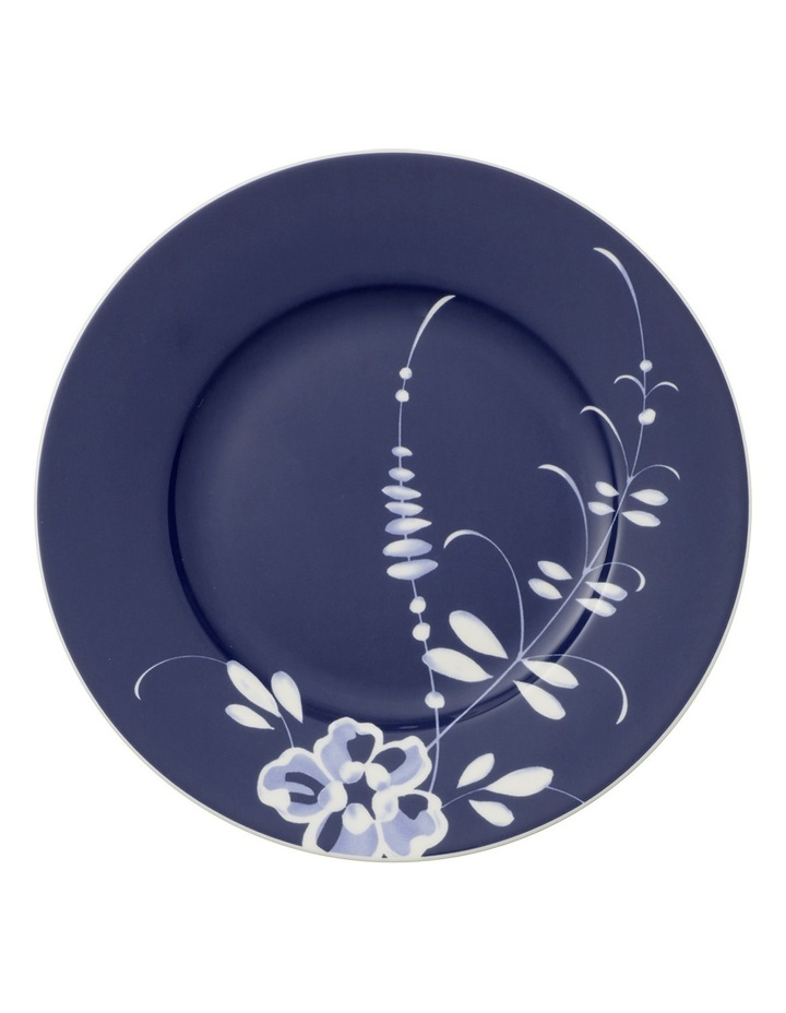 Old Luxembourg Brindille Blue Breakfast Plate image 1