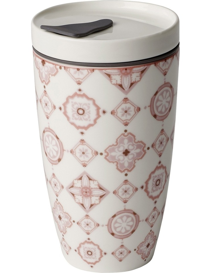 To Go Rose Travel Coffee Mug image 1