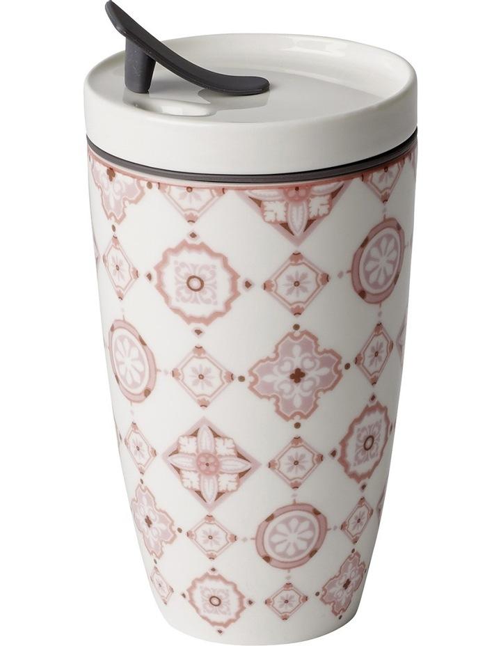 To Go Rose Travel Coffee Mug image 2