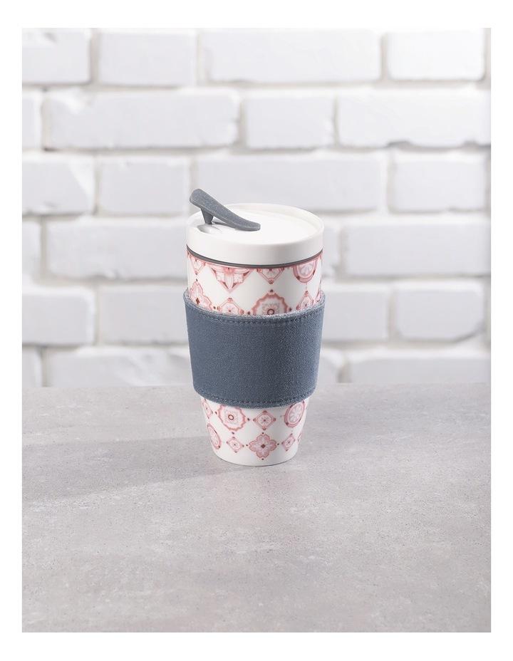 To Go Rose Travel Coffee Mug image 3