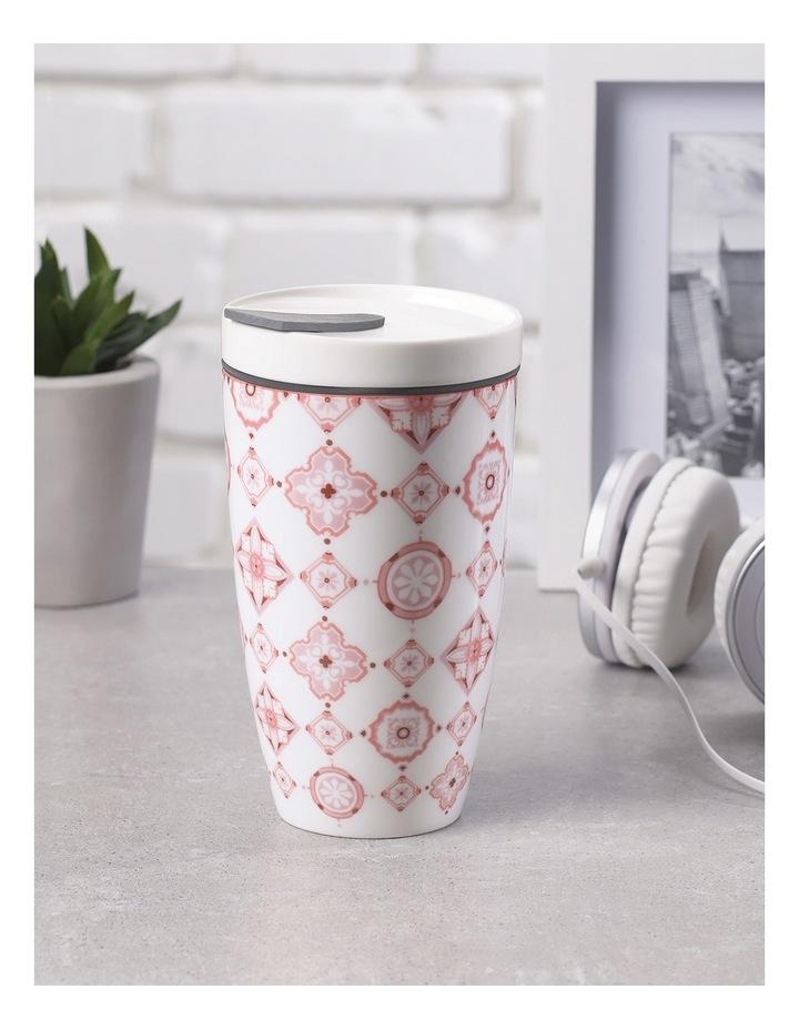 To Go Rose Travel Coffee Mug image 4