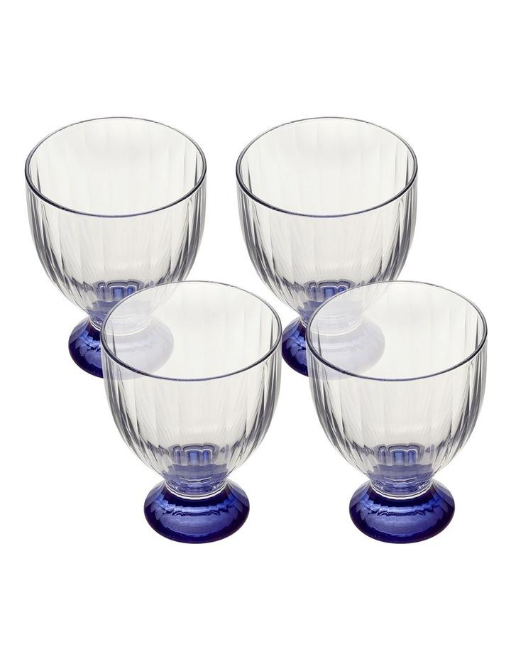 Artesano Original Bleu Wine Goblet Small 112mm Set of 4 image 1