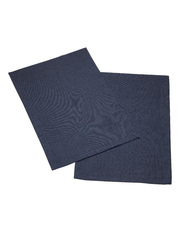 Textil Uni Trend Placemat Vintage Blue 35x50cm Set of 2 image 1