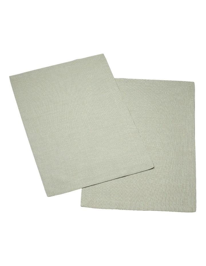 Textil Uni Trend Placemat Fog Green 35x50cm Set of 2 image 1