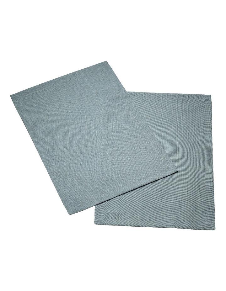 Textil Uni Trend Placemat Blue Fox 35x50cm Set of 2 image 1