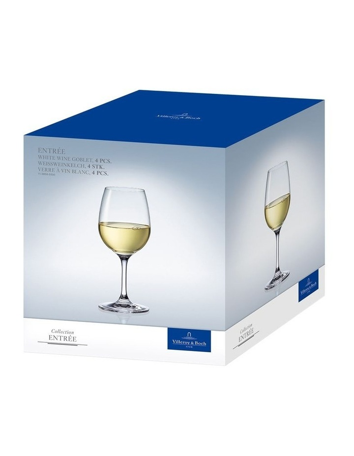 Entre White Wine Goblet 186mm Set of 4 image 3