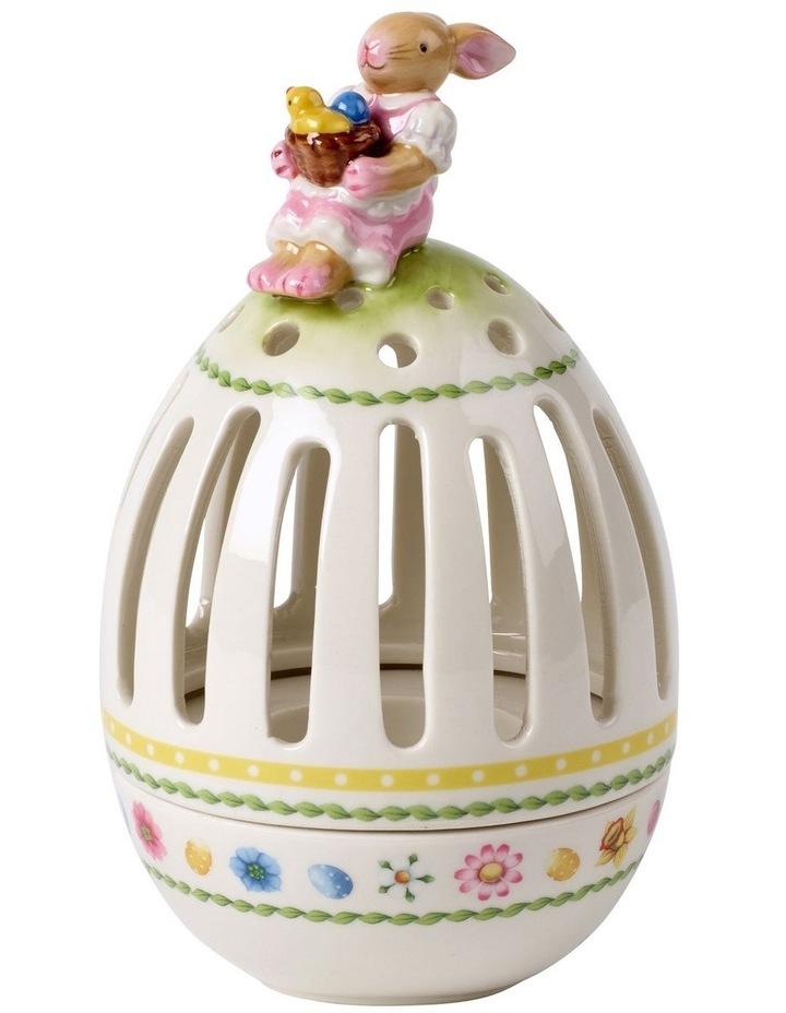 Bunny Tales tea light holder egg image 1