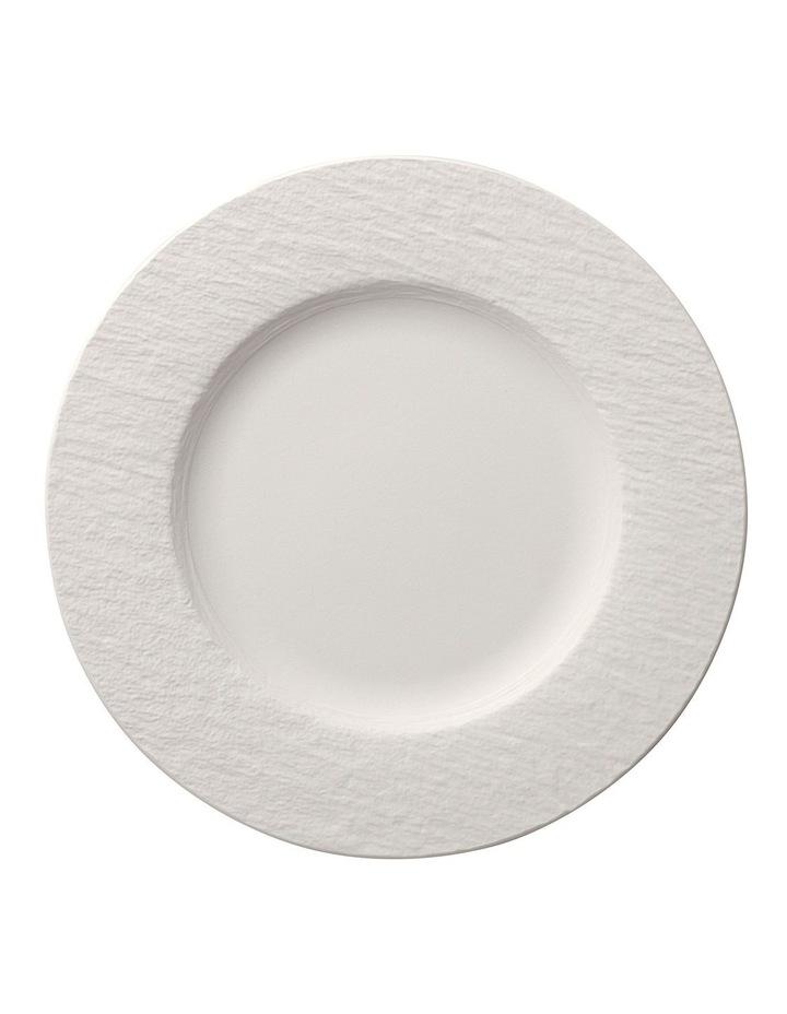 Manufacture Rock Blanc Breakfast Plate image 1