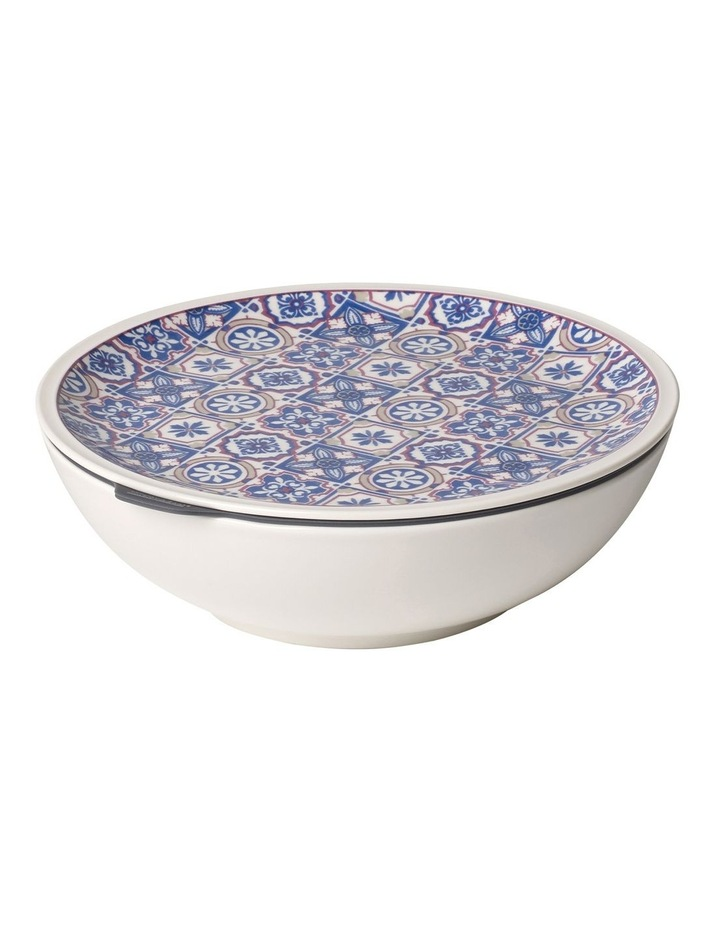 Modern Dining To Go Indigo Bowl Large image 1