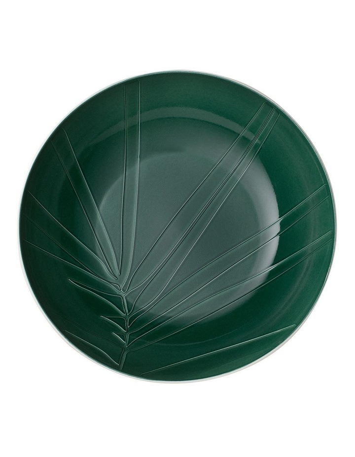 It's My Match Green Serving Bowl Leaf image 1