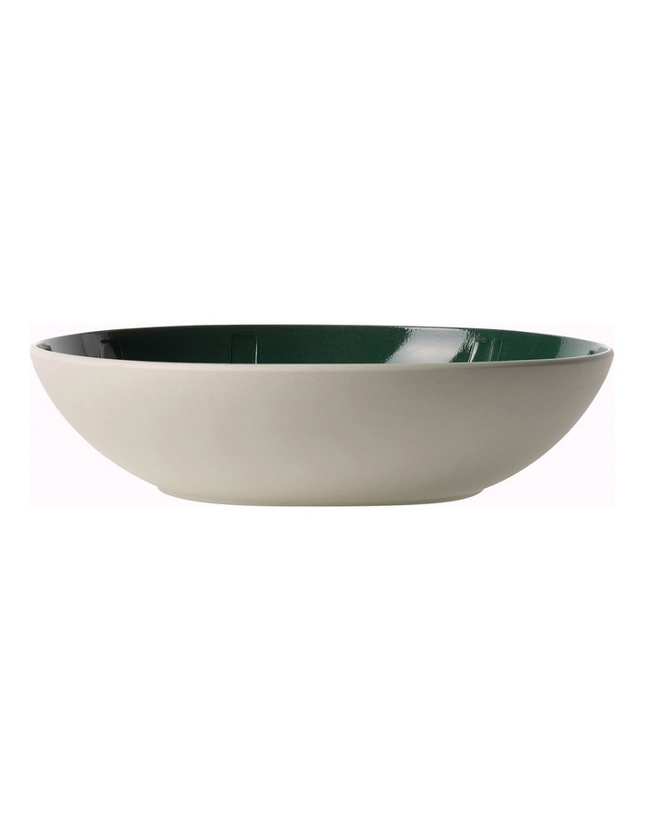 It's My Match Green Serving Bowl Leaf image 2