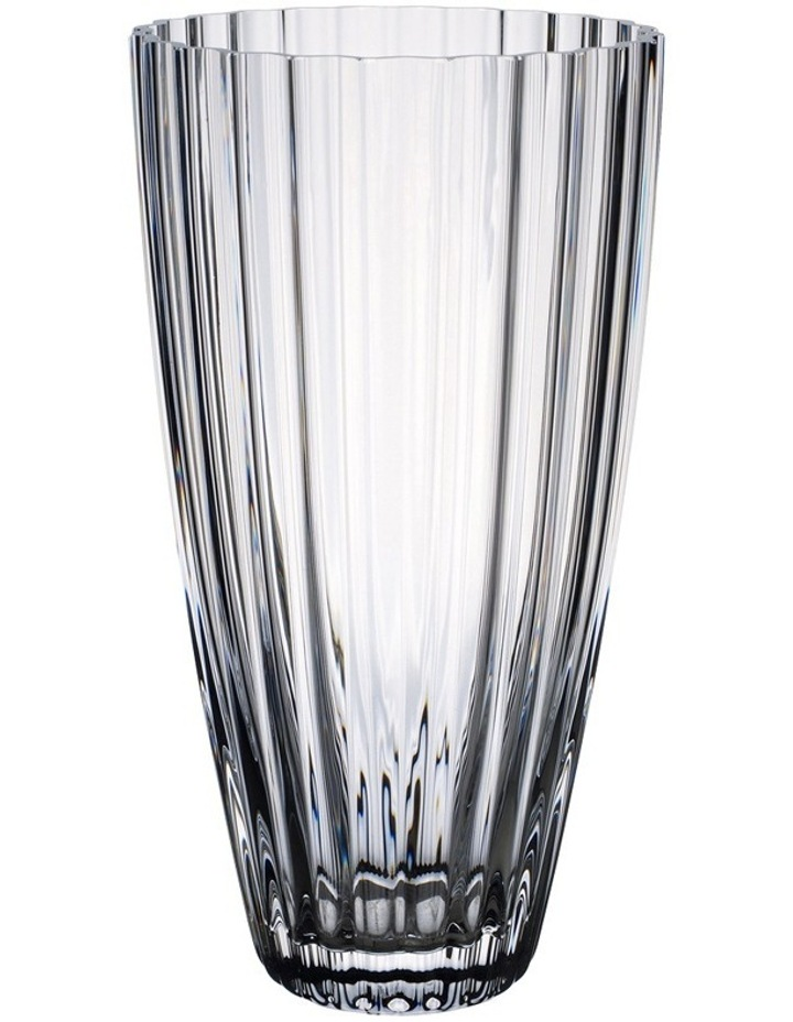 Light & Flowers Clear Lily Vase 280mm image 1