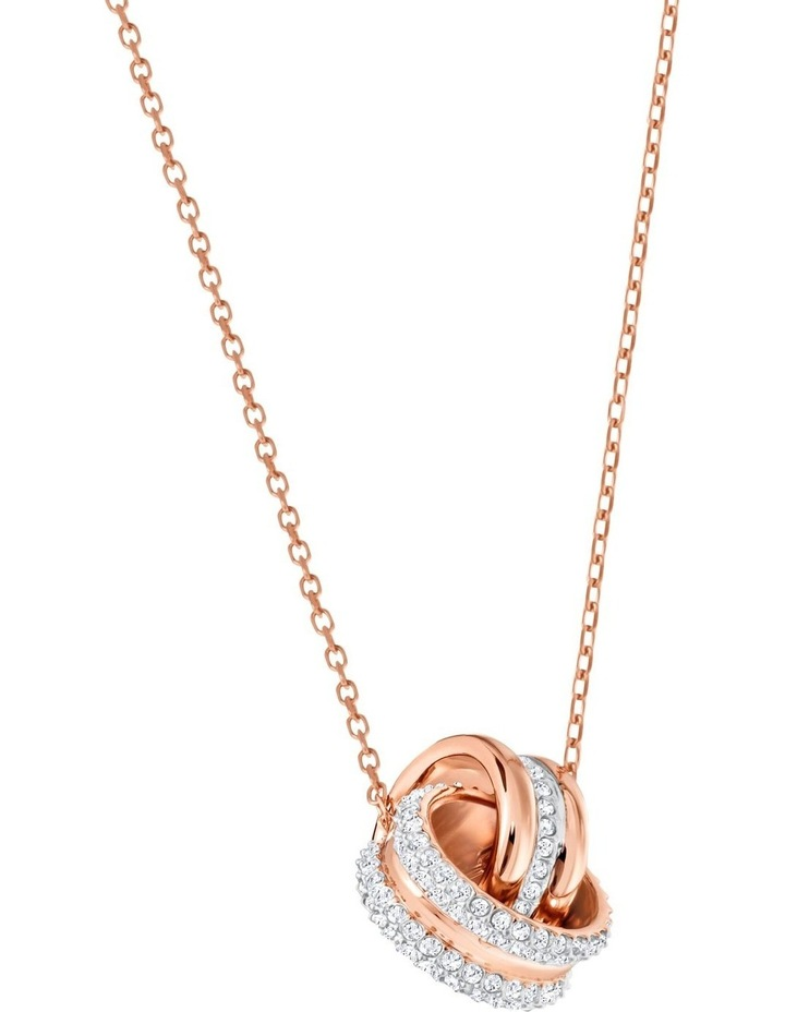 Further Pendant - White - Rose-gold Tone Plated image 3