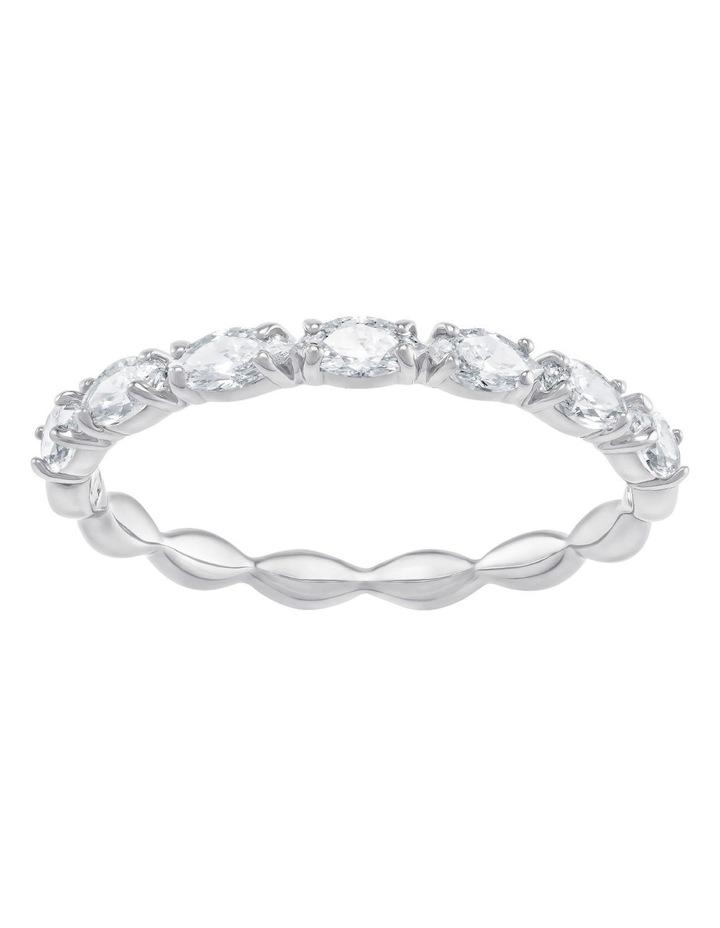 Vittore Marquise Ring - White - Rhodium Plated 58mm image 1