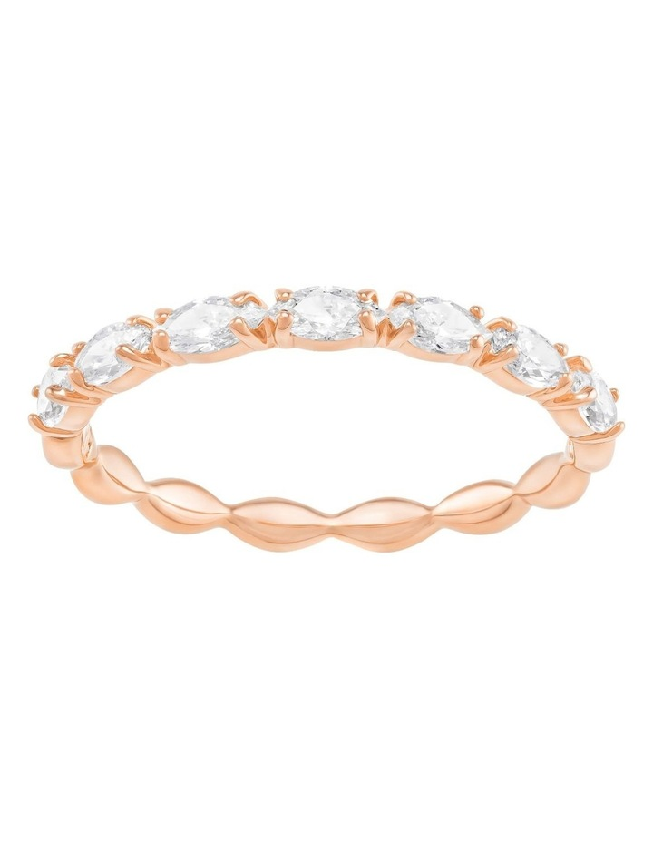 Vittore Marquise Ring - White - Rose-gold Tone Plated 52mm image 1